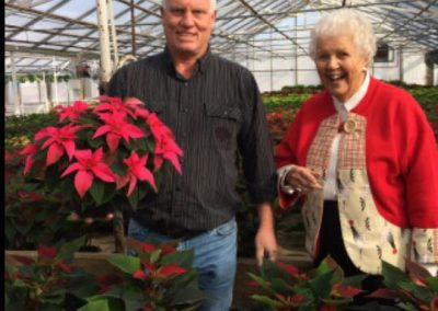 Happy Christmas customer Nicks Greenhouse