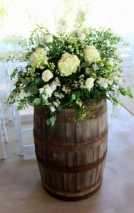 Many Klyn wedding barrel