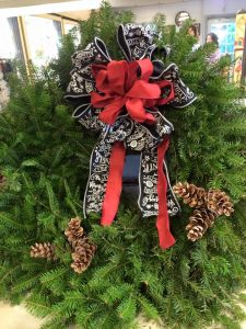 Christmas wreath Nicks Greenhouse