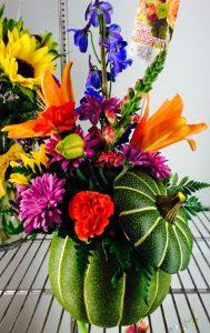 Fall arrangement Nicks Greenhouse