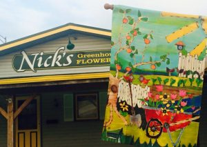 Nicks Greenhouse building