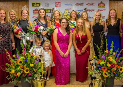 2018 Knoxville Nationals queen candidates.