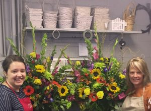 Floral designers at Nick's Greenhouse